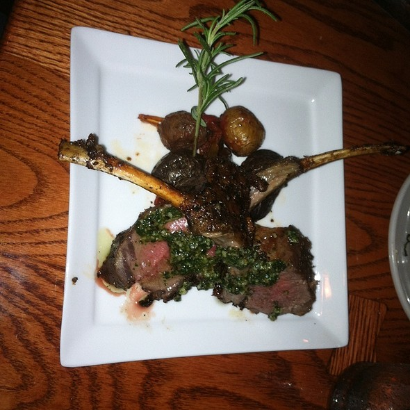 Broiled Lamb Chops - Zia Marie, Virginia Beach, VA