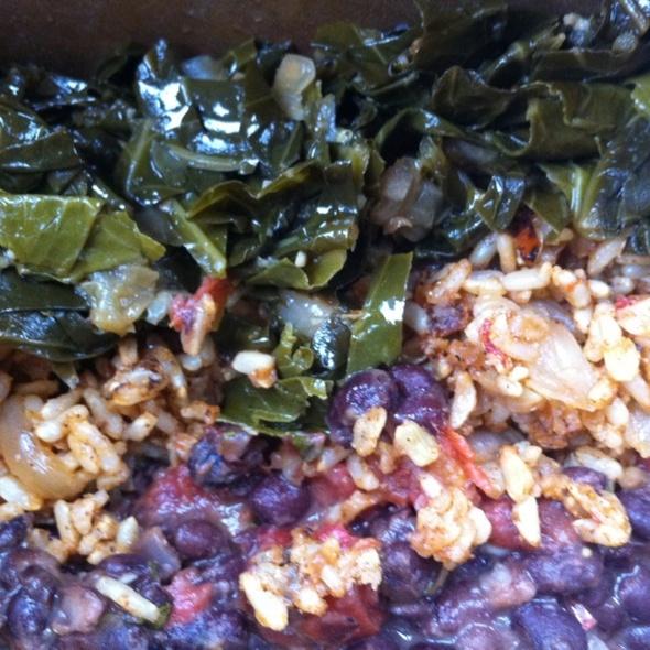 Black Beans, Brown Rice, and Collard Greens @ Sevananda Natural Foods Market