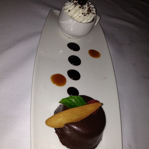 Chocolate Budino @ Samoset Resort