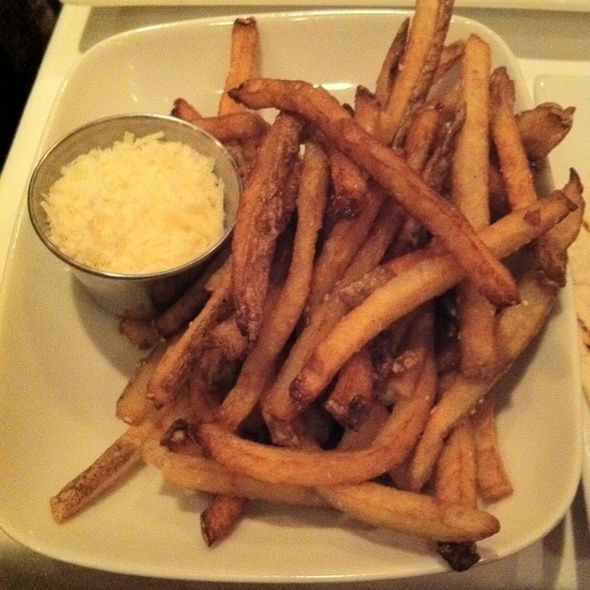 Truffle Parmesan Fries - The Quarter Bistro, Mariemont, OH