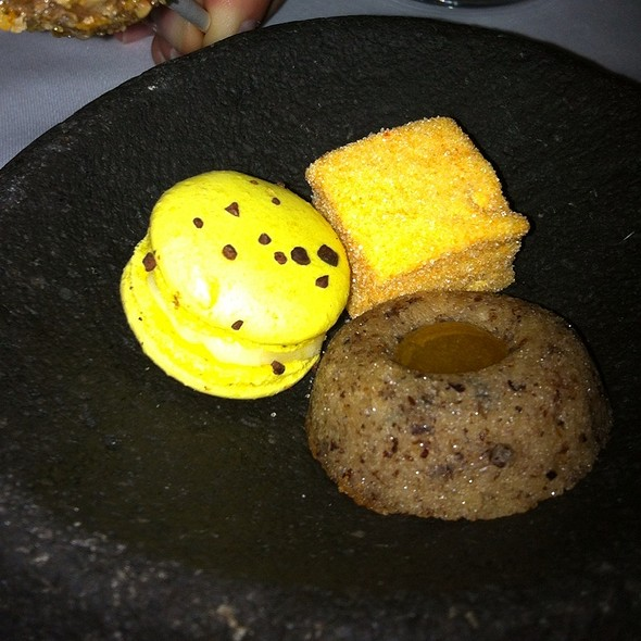 Trio Of Mini Desserts - Europea, Montréal, QC