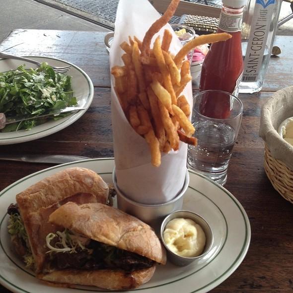 Grilled Steak Sandwich @ Pastis