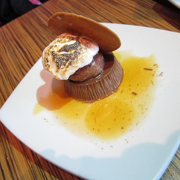 Salted Caramel Chocolate Flan - Masa 14, Washington, DC