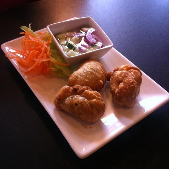 Curry Puff @ Little Charm Thai Kitchen