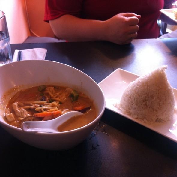 Red Curry with Chicken @ Little Charm Thai Kitchen