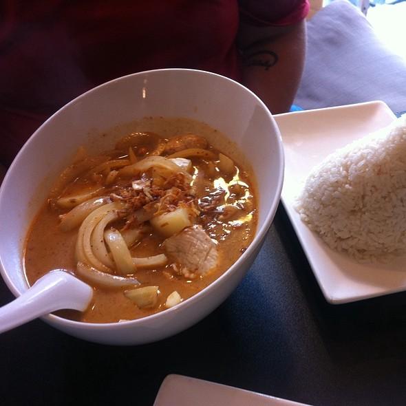 Massaman Curry With Chicken @ Little Charm Thai Kitchen