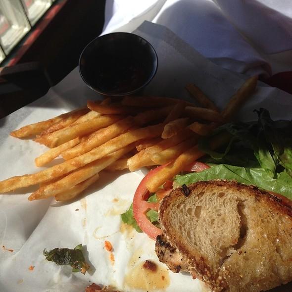 Lemon Chicken Sandwich - BLK Earth Sea Spirits, Huntington Beach, CA