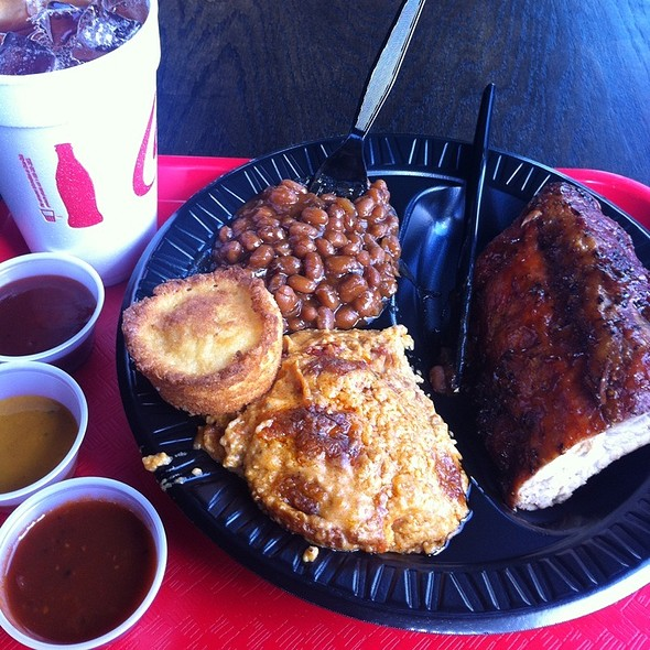 Ribs @ B And C Melrose Bbq