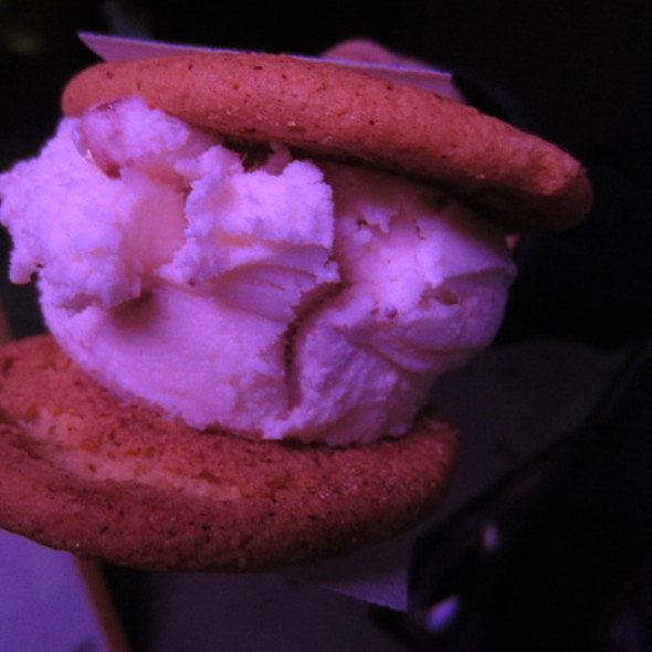 Makers Mark Manhattan Ice Cream w/ Snickerdoodle Cookie