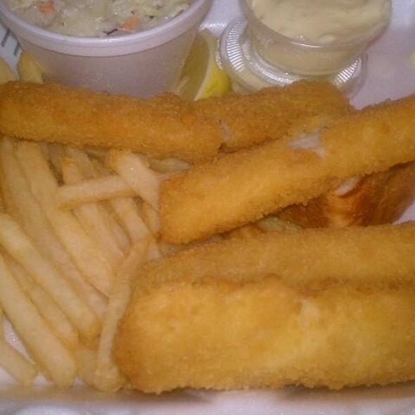 Fried Fish Sticks @ Top Notch
