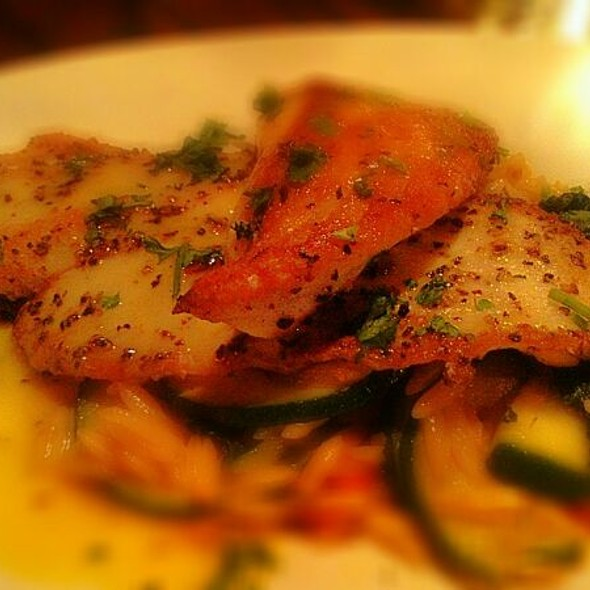 Pan Seared Baramundi w/Citrus Beur Blanc @ Bistro At the Bijou