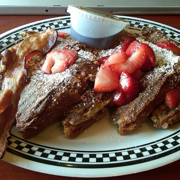 French Toast w/ Fresh Strawberries @ First & Last Bakery Cafe