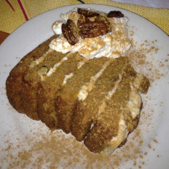 Carrot Cake - Daily Grill - Burbank Marriott Hotel, Burbank, CA