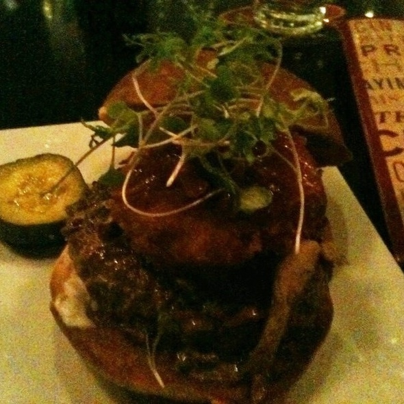 American Kobe Beef Burger @ Beer Kitchen