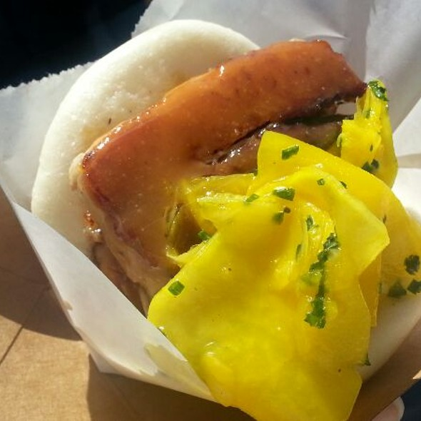 Chairman Bao Pork Belly Bun With Pickled Daikon (Steamed) @ Eat Real Fest 2012