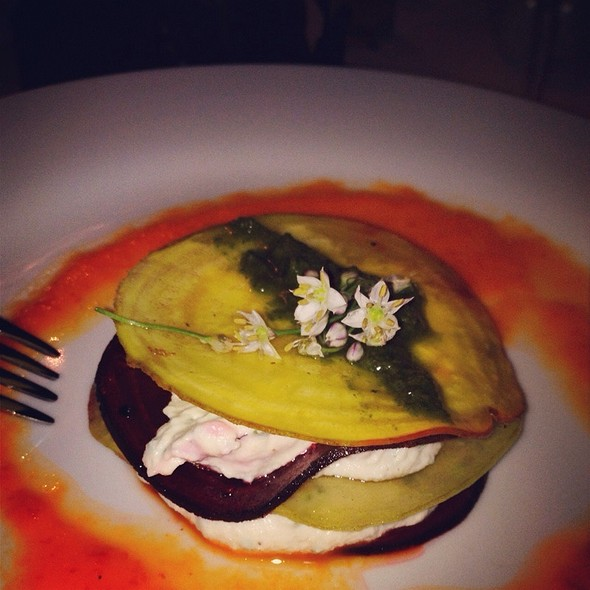Lasagne Of Red And White Beetroot @ Mund Art Berlin (Supperclub)