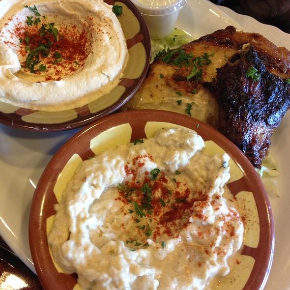 1/4 Roast Chicken Plate - Ali Baba, South San Francisco, CA