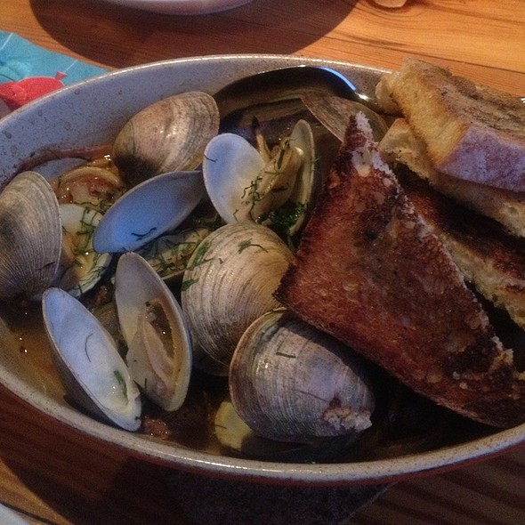 Wood Roasted Clams - The Grocery, Charleston, SC