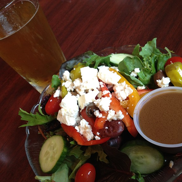 Greek Salad @ Eli's Brick Oven Pizza & Market