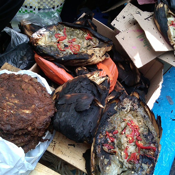 Tortitas de Ahuahutle @ Mercado Xochimilco