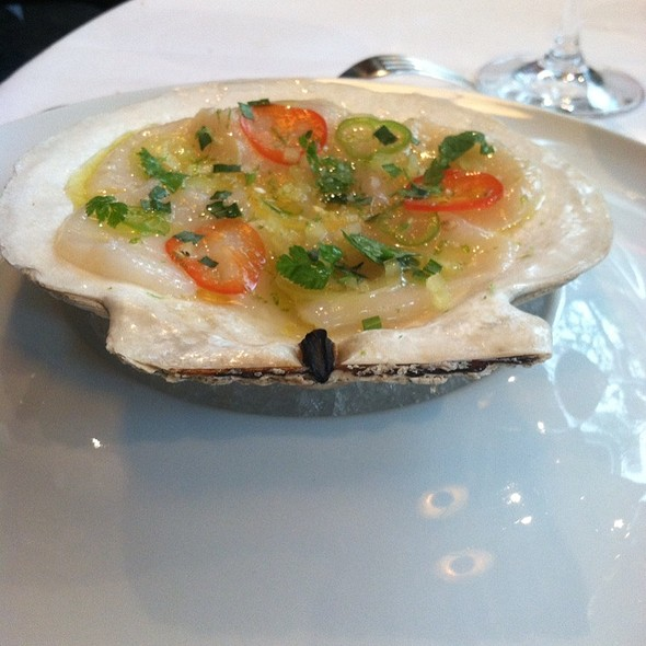 Scallop Ceviche @ Nougatine at Jean Georges