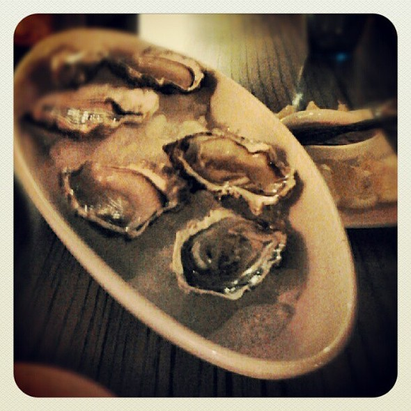 French oyster @ Be Your Guest