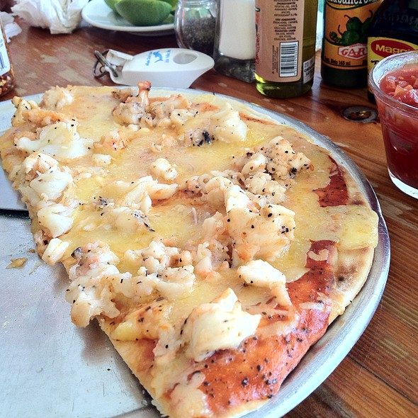 Lobster Pizza @ Edelyn