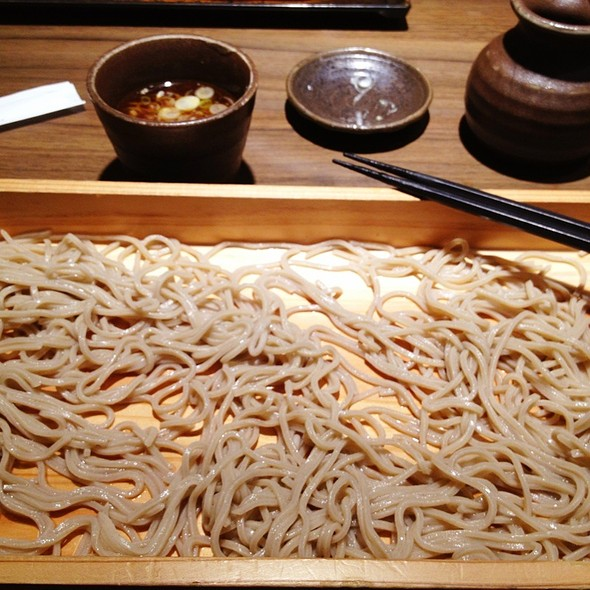 Cold Soba Noodles @ Ootoya (Changi City Point)