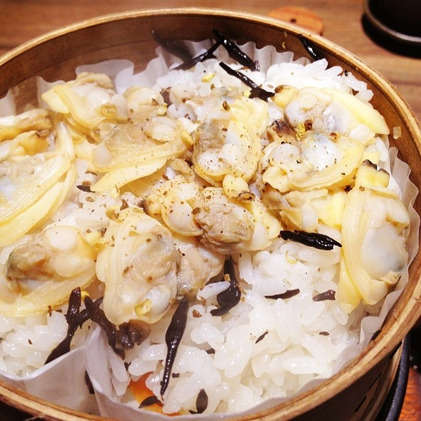 Steamed Rice With Clams @ Ootoya (Changi City Point)