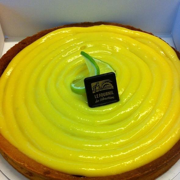 Tarte au Citron / Lemon Tart @ Le Fournil B.V.
