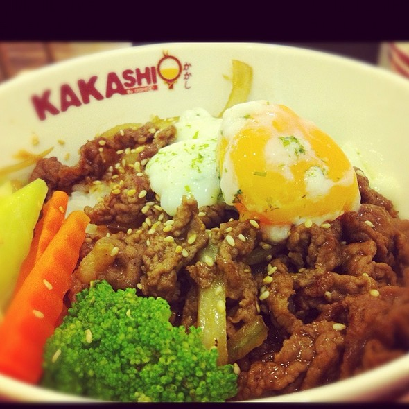Gyudon Rice Bowl @ Kakashi | คาคาชิ (โลตัส บางปะกอก)