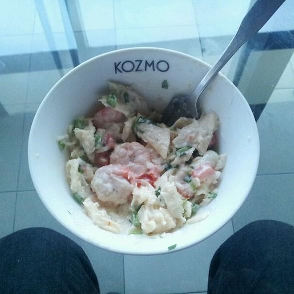 pasta salad with prawn @ Kozmo Lounge