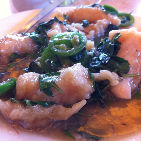 Basil Fish Fillet @ Newport Tan Cang Seafood Restaurant