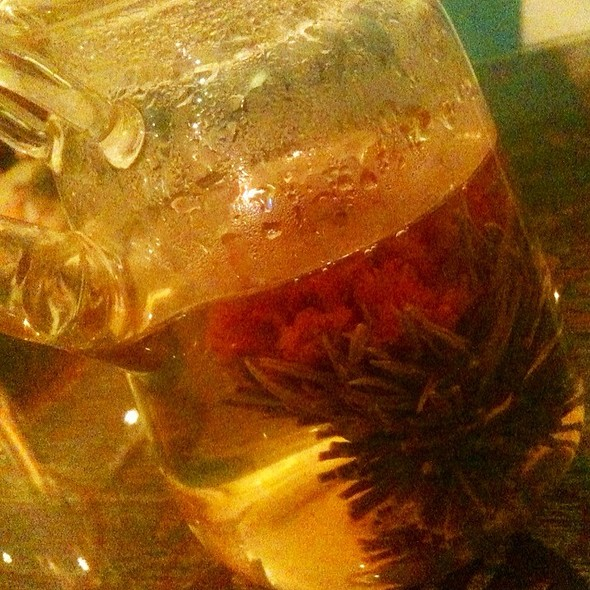 Hot Chrysanthemum Tea @ lotus farm to table