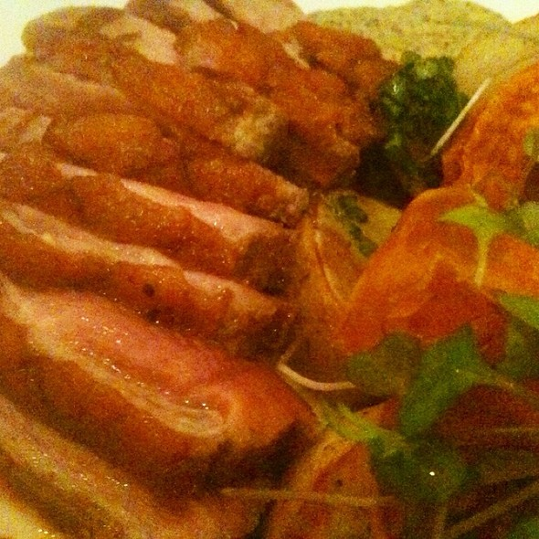 Rohan Duck Breast @ lotus farm to table