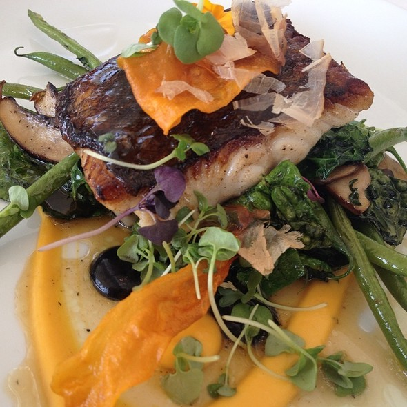 Miso Cod - Restaurant at the Getty Center