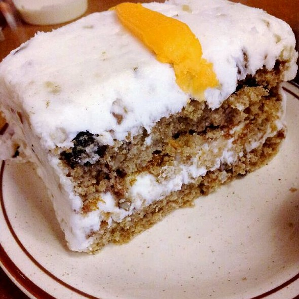 Carrot Cake @ Canter's Fairfax Restaurant