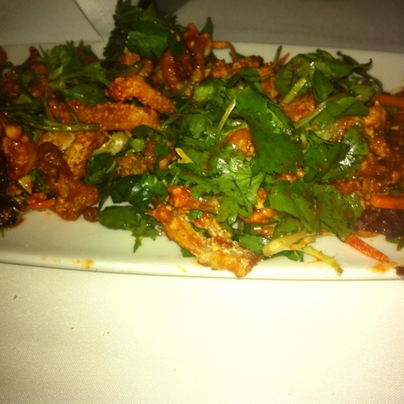 Fried Calamari @ Blue Water Grill