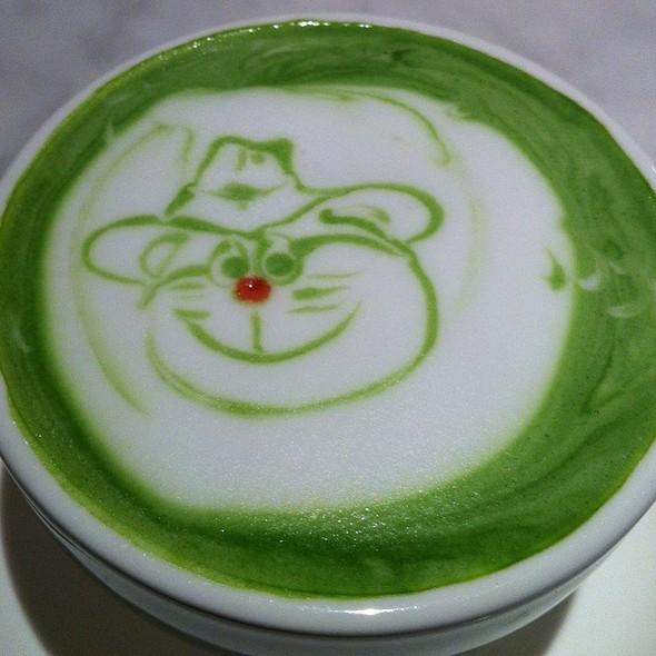 Macha Látte @ Ginza cafe