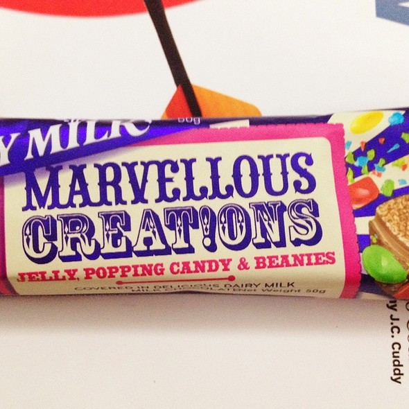 Dairy Milk: Marvellous Creations @ Cold Storage