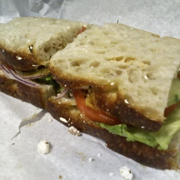 Mediterranean Veggie Sandwich @ Neillio's Gourmet Kitchen