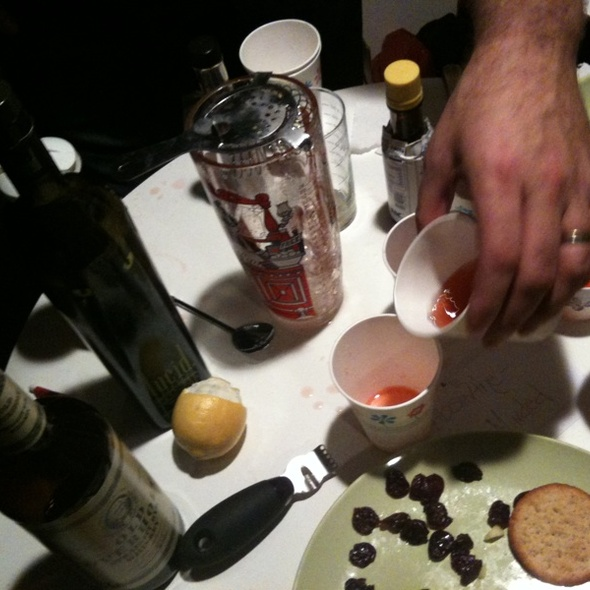 Absinthe Minded @ Foodspotting Mix-off