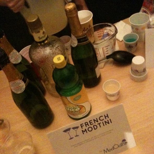 French Modtini @ Foodspotting Mix-off