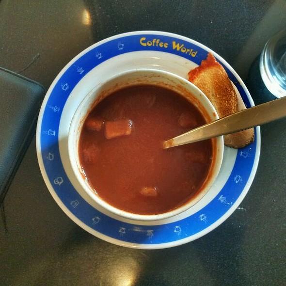 Tomato Soup @ Coffee World