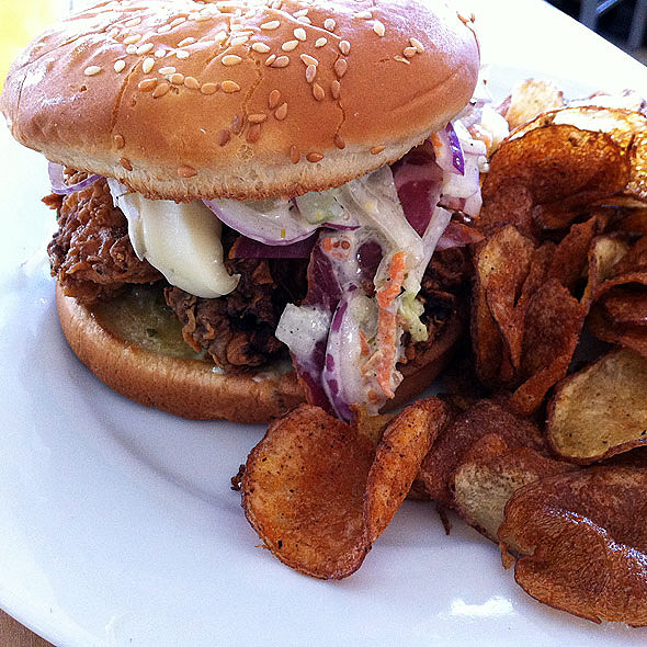 Fried Chicken Sandwich @ Toups' Meatery