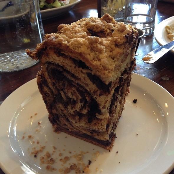 Chocolate Babka @ Wise Sons Jewish Delicatessen