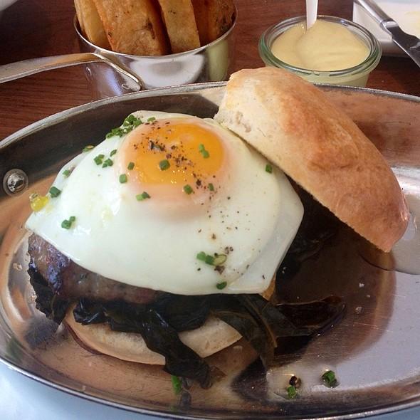 Biscuit Breakfast Sandwich @ Blue Duck Tavern
