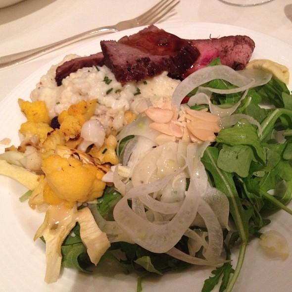 Arugula Salad & More - EDGAR Bar & Kitchen at The Mayflower Hotel, Washington, DC