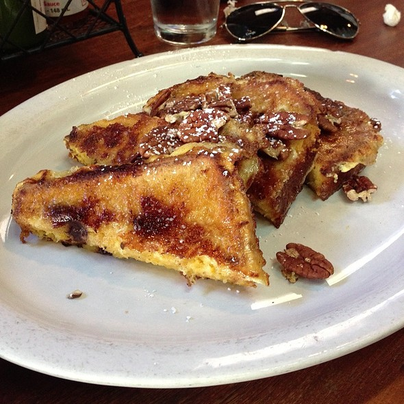 Pumpkin Chocolate Chip French Toast