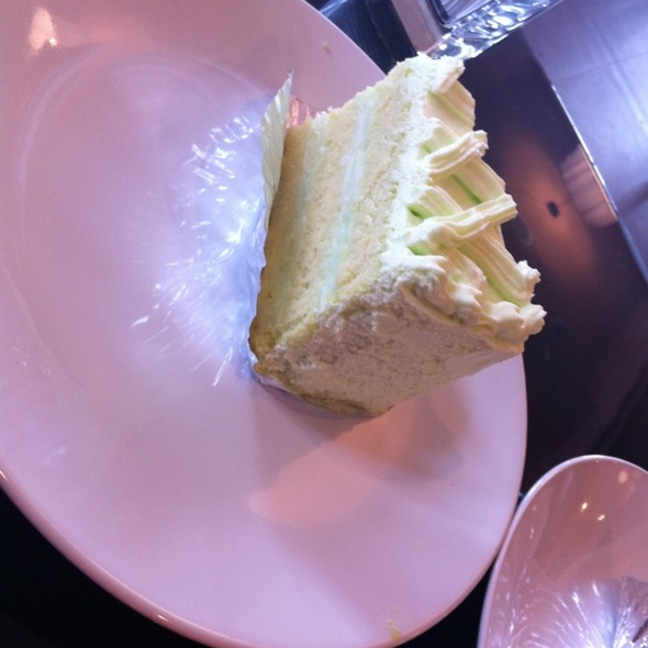 pandan young coconut cake @ all about cake